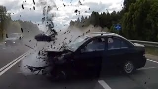 Fail Compilation of Driving in Russia DECEMBER 2016 #79