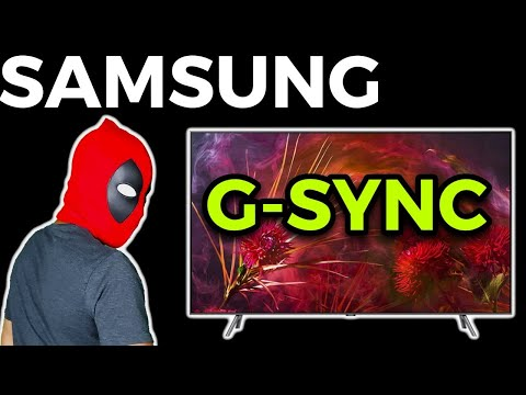 Samsung TVs Are G-SYNC Compatible -Here's Proof