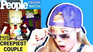 ★♫ CREEPIEST COUPLE EVER!   REACTION to NEMESIS 1   HARLEY QUINN vs. PSYCHO GiRL