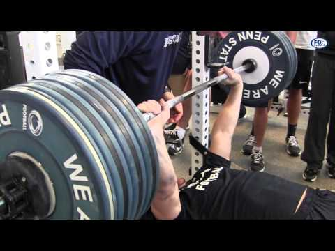 Penn State Bench Press Workout Image 1