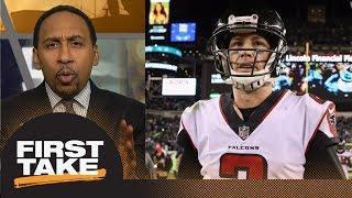 Stephen A. Smith blames Matt Ryan for Falcons' loss to Eagles | First Take | ESPN