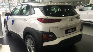 Hyundai Kona 2.0 tiêu chuẩn mầu trắng. Hotline Bán Hàng 094.179.6888