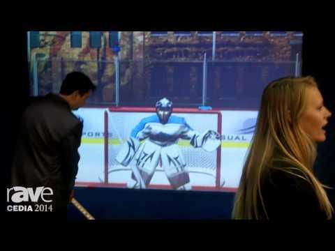 CEDIA 2014: Visual Sports Offers Simulators for Hockey, Soccer, Football, Cricket, Zombie Dutchball