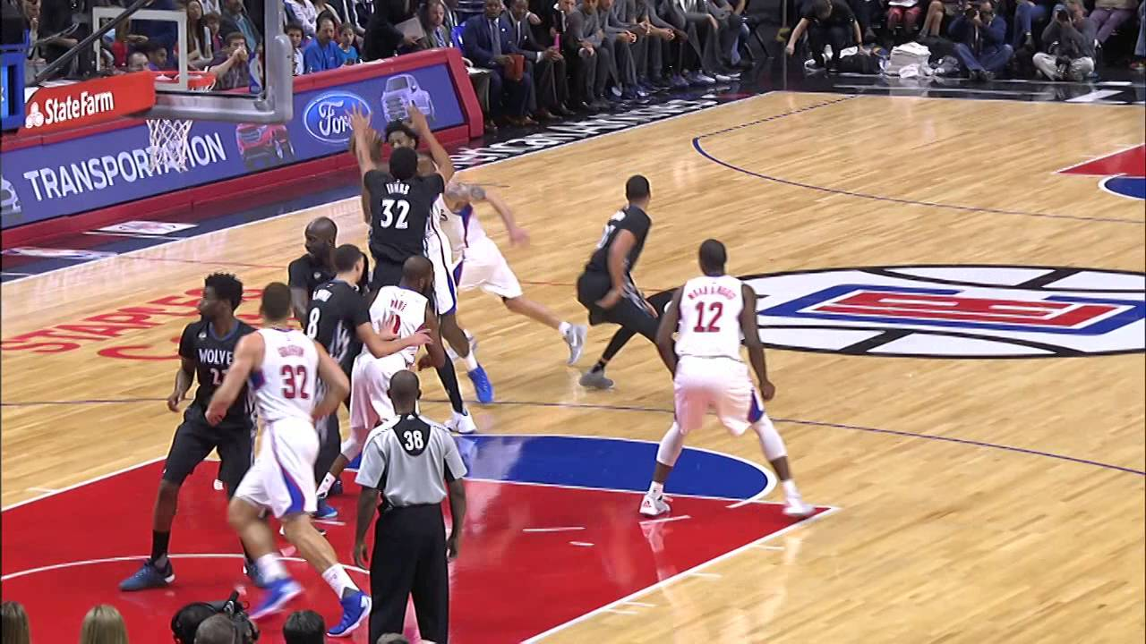 Blake Griffin Throws Down Two Huge Dunks