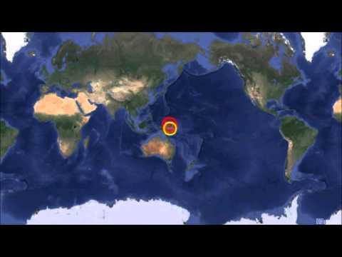 M 6.9 EARTHQUAKE -  FED. STATES OF MICRONESIA - Aug 3, 2014