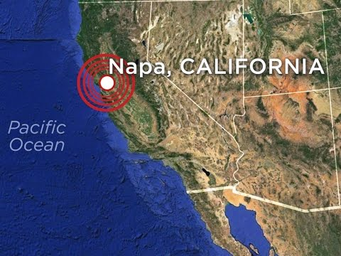 Earthquake : Strong 6.1 Magnitude Earthquake rocks San Francisco Bay Area in California (Aug24,2014)