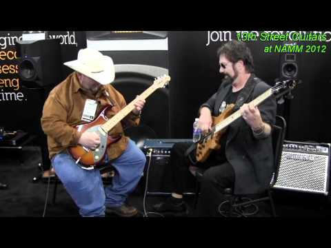 NAMM 2012 Johnny Hiland w/ Ron on Bass