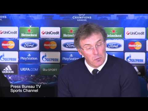 Laurent Blanc reaction Chelsea vs PSG