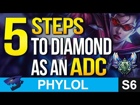 5 Steps to DIAMOND AS AN ADC in Season 6 - Everything you need to do
