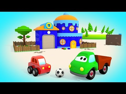Учим Фигуры с Машинками / Грузовичок Макс Маленькая Машинка - Мультик для малышей / Волшебство ТВ
