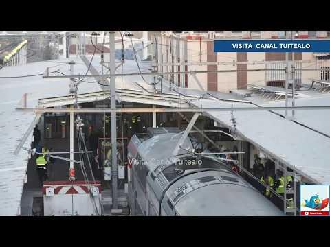 Al menos 45 heridos por accidente de tren en España Video