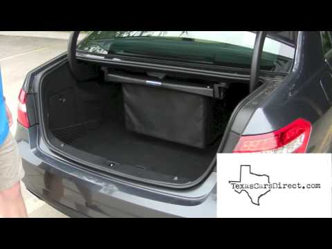 2013 Mercedes Benz E350 New Comfort Box Feature In Trunk