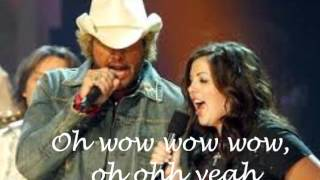 Watch Toby Keith Mockingbird feat Krystal Keith video