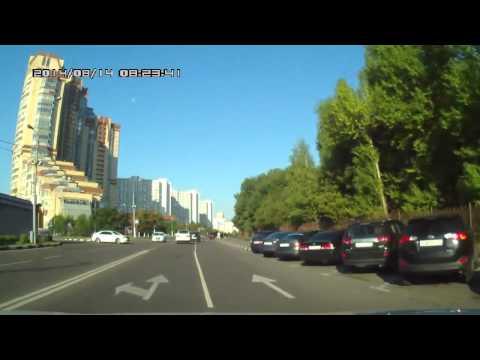 Авария в Москве 14 08 2014