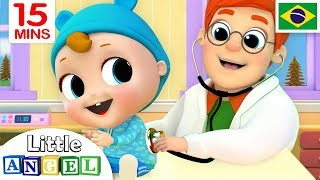 O Bebê Vai ao Médico, B-I-N-G-O e Muito Mais! | + Vídeos Infantis | Little Angel Português