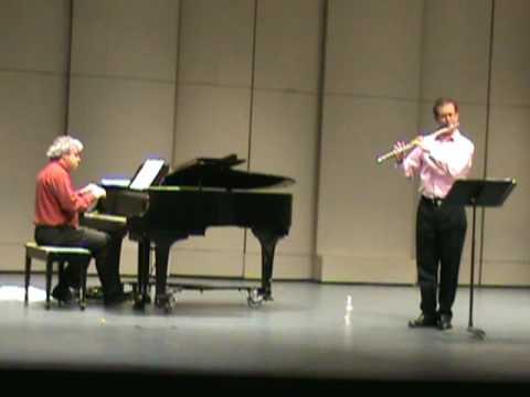 """Pixinguinha """"Carinhoso"""" Marco Granados, Flute; Jovino Santos Neto, Piano"""