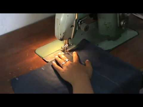 SEWING A SIMPLE SKIRT - BELAJAR MENJAHIT ROK SPAN SEDERHANA thumbnail