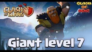 Clash Of Clans - ได้ยักษ์เลเวล7แว้ววว