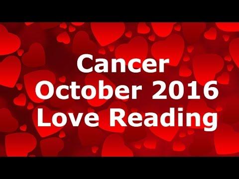 Cancer October 2016 Love Tarot Reading