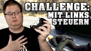 Challenge: GTA Online nur mit linker Hand steuern