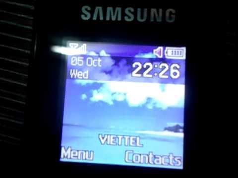 SamSung E1080T cài hệ điều hành Windows 7 | MOV05166