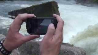 Краш-тест водонепроницаемого и ударопрочного китайского телефона