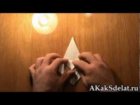 Как из бумаги сделать лилию