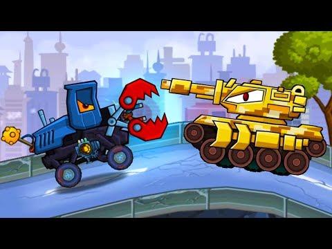 Хищные машины 3 Машина ест машину Car Eats Car #25 мультик игра битва как в Drive Ahead #МАШИНКИКИДА