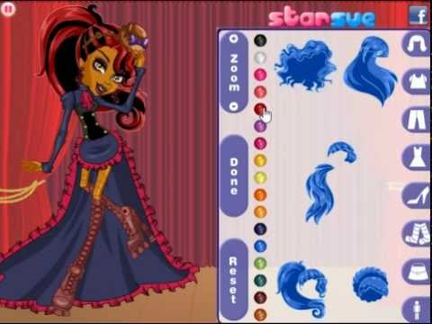 Robecca in Dance Class Dress Up Game - YouTube | 480 x 360 jpeg 24kB