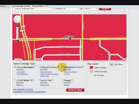 How to Check Verizon Wireless Mobile Broadband Coverage