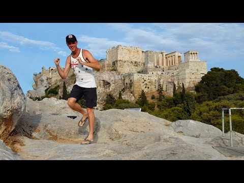 Dancing King: Adventurer Travels The Globe Performing 'Running Man' Dance