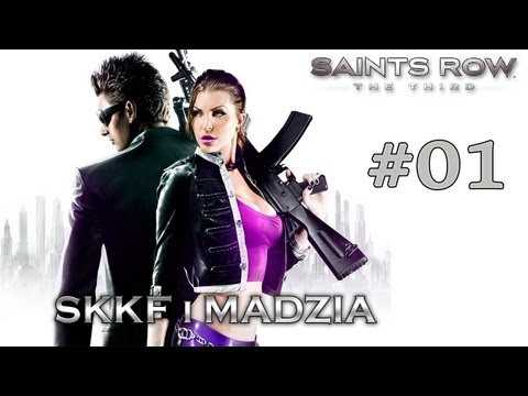 Saints Row: The Third DLC - Skkf&Madzia - #01