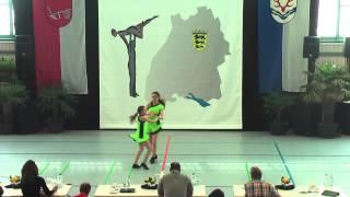 Celine Bolsinger & Lara Bolsinger - Ländle Cup 2015