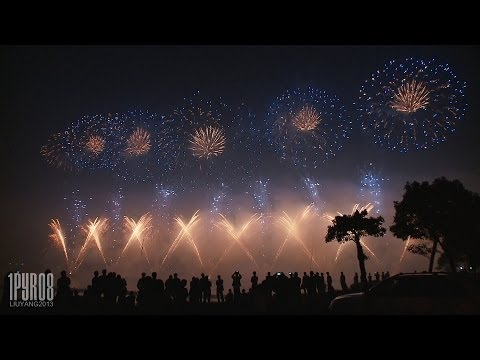 ᴴᴰ CBF Pyrotechnics | Liuyang International Fireworks Festival