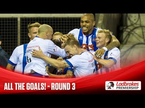 All the goals scored on Tuesday 11/08/2015 and Wednesday 12/08/2015 in the SPFL Ladbrokes Premiership, featuring strikes from Blair Spittal, Greg Stewart, James McPake, Craig Curran, Graham...