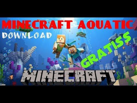 Cara Mendownload Minecraft Versi 1.13 Minecraft aquatic Gratiss di pc 100% Berhasil (2018)