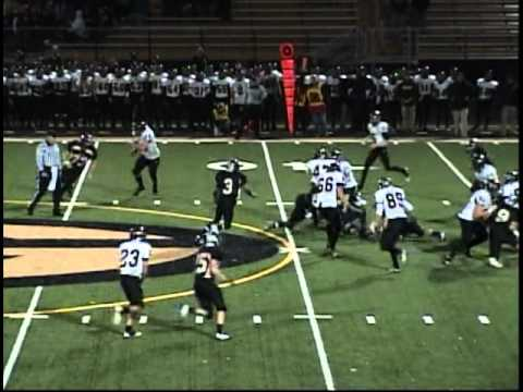 Aaron Smith [2009 2010 Highlights] | DB FS #27 #15 | Glenbard North High School.avi