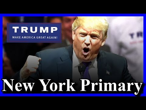 Donald Trump Victory Speech New York Primary Election Night Event Results Trump Tower HD FULL Win ✔
