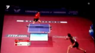 Ma Long vs Timo Boll/fantastic point
