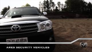Ares Security Vehicles - Armoured Toyota Fortuner