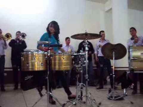 Un palomazo en las tarolas con los amigos de Banda Mi Zacatecas