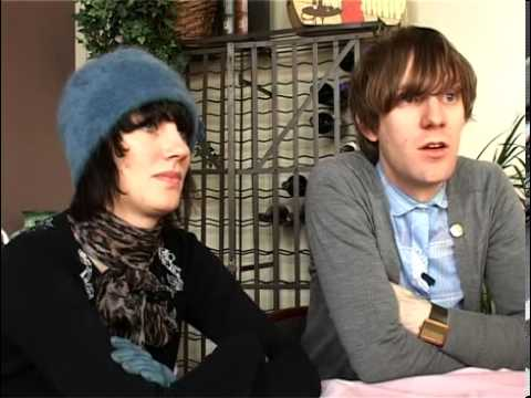 The Long Blondes 2008 interview - Kate and Dorian (part 1)