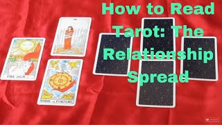 Tarot Reading Mini-lesson ~ The Relationship Spread