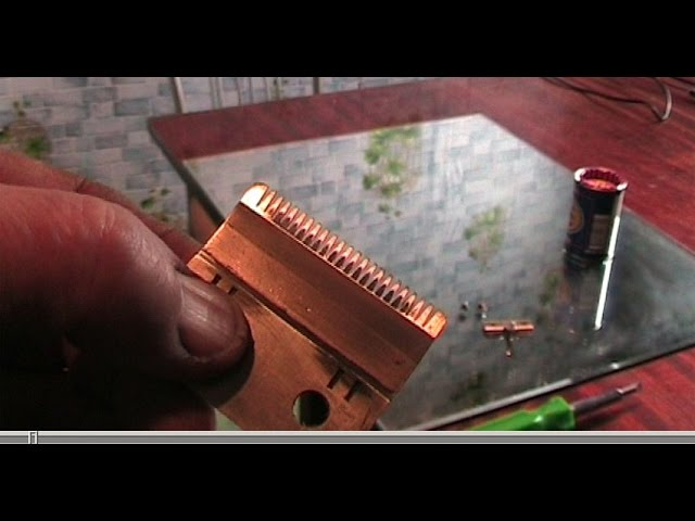Заточка ножей машинки своими руками
