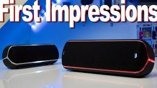 Sony XB32 And Sony XB22 First Impressions