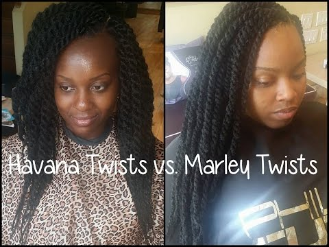 Havana Twists Vs Marley Twists