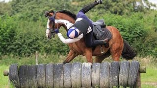 Horse Falls Compilation -Best Bad Horse Riding and Pony Fails -  Epic Equestrian Falls and Bloopers