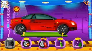 Mechanic Car Garage And Spa - Part 1 | Wash the cars game | 720HD