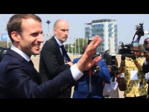 France's Macron in Ghana on West Africa trip