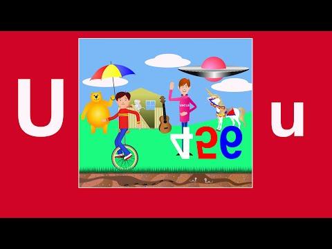 Alphabet Songs - The Letter U
